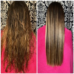 Brazilian Blow-out Express with Maci